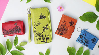 Lavishy design & wholesale original, beautiful and affordable emboss vegan bags, wallets and accessories