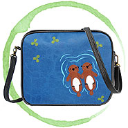 LAVISHY Adora collection wholesale vegan applique bags to gift shop, clothing & fashion accessories boutique, book store, souvenir shops in Canada, USA & worldwide.