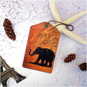 LAVISHY Adora collection vegan applique luggage tags