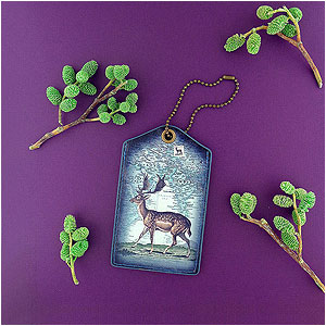 LAVISHY Liano collection vegan luggage tags